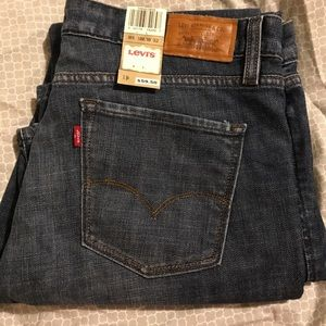 NWT Levi's 553 Mid-Rise Bootcut Jeans